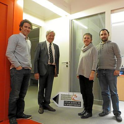 premier contact entre udalbiltza et l oplb le journal du pays basque. Black Bedroom Furniture Sets. Home Design Ideas